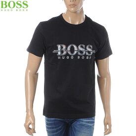 ボス ヒューゴボス BOSS HUGO BOSS クルーネックTシャツ 半袖 メンズ 50404399 ブラック