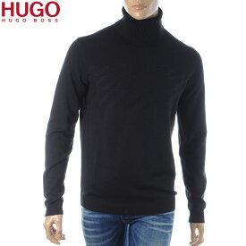 ヒューゴボス HUGO BOSS タートルネックニット セーター メンズ 50414490 220013 ブラック 2019秋冬新作