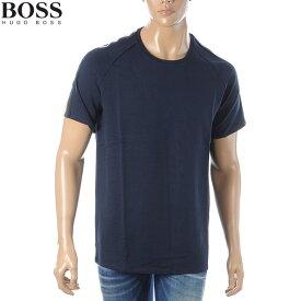 ヒューゴボス HUGO BOSS クルーネックTシャツ 半袖 メンズ 50426163 10220016 ネイビー
