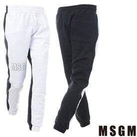 エムエスジーエム MSGM スウェットパンツ メンズ 2540MP69X ブラック
