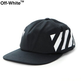 オフホワイト OFF WHITE ベースボールキャップ 帽子 メンズ DIAG BASEBALL CAP OMLB008E194000281001 ブラック