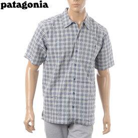 パタゴニア PATAGONIA パッカーウェアシャツ 半袖 メンズ 53004 LIDB