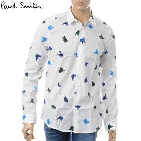 ポールスミス PAUL SMITH カジュアルシャツ メンズ PUXD 433R 657 ホワイト