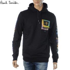 ポールスミス PAUL SMITH パーカー メンズ スウェット ブランド プルオーバー M2R 694R EP2476 ブラック 2020秋冬新作