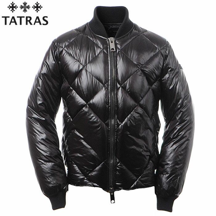 タトラス TATRAS ダウンジャケット メンズ アウター MA-1ボンバージャケット TERRENO MTK18A448 ブラック