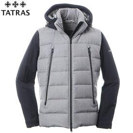 タトラス TATRAS ダウンジャケット メンズ アウター SPIAZZO MTK19A4134 ライトグレー