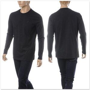 ヴェルサーチコレクションVERSACECOLLECTIONクルーネックTシャツ長袖メンズV800491RVJ00180ブラック