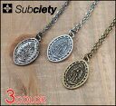 SUBCIETY サブサエティ subciety METAL NECKLACE -Guadalupe-/ネックレス【SUBCIETY】