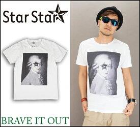 "StarStar【1カラー】ロッキンオンクラシカル ""バッハ"" 半袖Tシャツ(スタースター)S/S TEE/インクジェット/BRAVE IT OUT(ブレイブ イット アウト)LA0749"