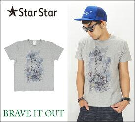 StarStar【1カラー】ユー・エス・エー 半袖Tシャツ(スタースター)S/S TEE/インクジェット/USA/LA0801