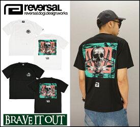 REVERSAL リバーサル SKULL & GI DRY H/MESH TEE Tシャツ