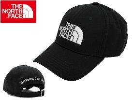 THE NORTHFACE ザ ノースフェイスTNF Logo Cap NN01830 キャップ 帽子 CAPアウトドア 山登り ストラップバック コットンツイル ユニセックス
