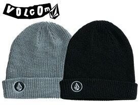 VOLCOM ボルコム ヴォルコム J5802001 ビーニー ニット帽 キャップ 帽子 CAP ニット アウトドア メール便 スノー スノボード JPN Quarter Cuff BNE ロゴ SNOWBOARD