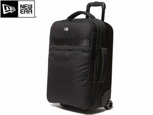 NEW ERA ニューエラ Wheel Bag ウィールバック 11404105 BLACK ブラック BOX BAG キャリーバッグ 旅行バッグ 機内持ち込み PC収納 42L 小さめ 大容量 newera 正規取扱 ビジネスバッグ トラベル バック