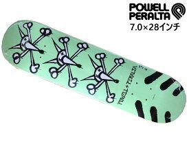 POWELLPERALTA パウェルパラルタ パウェル パウエル スケボー SKATE デッキ deck 板 7.0×28 子供 子供サイズ スケートボード スケート 男の子 女の子 7.0 7 7インチ インチ inch in 小学生 低学年