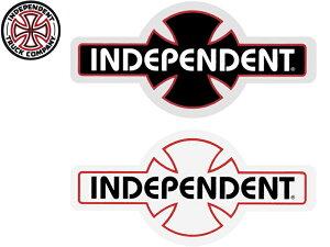 INDEPENDENT インディペンデント スケートボード LOGO ロゴ ステッカー デッキ シール デカール スケート スケボー skate sk8 インディー トラック ブランド 正規品 クロスロゴ メール便対応