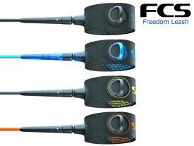 "FCS エフシーエス リーシュコード リーシュ Freedom Leash フリーダム 軽い 強い ショート ボード レギュラー グーフィー 6'0"" ナイロンコード シリコングリッププリントLEASH サーフィン サーフ SURF"