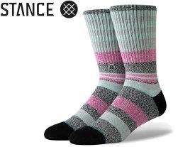 【STANCE SOCKS】スタンス ソックス M556A19MUN MUNGA MEN MENS CLASSIC メンズ 男性 男性用 靴下 長い靴下 CREW クルー丈 プレゼント 贈り物 オシャレ 正規品 シンプル グレー