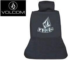 【VOLCOM ボルコム】 VLCM Driver Seat Cover シートカバー 車 D67219JB サーフィン サーフ スケート スケートボード