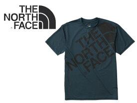 【THE NORTH FACE ザ ノースフェイス】 S/S Bouncer Tee NT11747 UPF50Tシャツ 半袖 カットソー BIG LOGO ロゴ アウトドア キャンプ 登山 メンズ 男