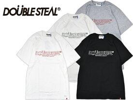 DOUBLE STEAL ダブルスティール 973-14050 Pencil Basic Logo Tシャツ 半袖 TEE カットソー ストリート ファッション OLLIE SAMURAI オーリー サムライ メール便対応