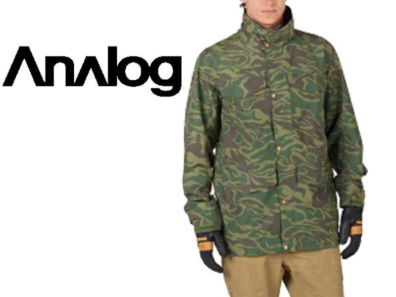 Analog アナログ BURTON バートン 17-18 Tollgate Jacket 17066101960 ミリタリー ジャケット メンズ スノーボード スノボー ウェア ウエア 日本正規品 送料無料