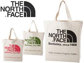 THE NORTHFACE ザ ノースフェイス メール便 TNF ORGANIC COTTON TOTE NM81616 トートバッグ トート 鞄 手持ち バッグ BAG エコバッグ オーガニックコットン 20L 対応 容量 コットントート 大きめ ロゴ