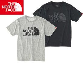 【THE NORTHFACE ザ ノースフェイス】 S/S Color Dome Tee NT31620 Tシャツ 半袖 カットソー センターロゴ LOGO ロゴ アウトドア キャンプ 登山 メンズ 男 S M BLACK 黒 くろ GRAY グレー ミックスグレー