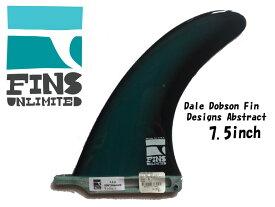 """【FINS UNLIMITED】フィンズアンリミテッド フィンアンリミテッド FU FINS 7.5 inch D PERFORMANCE 7.5"""" ABSTRACT DALE DOBSON DD インチ フィン センターフィン センター サーフィン SURF サーフボード SURFBOARD アブストラクト"""