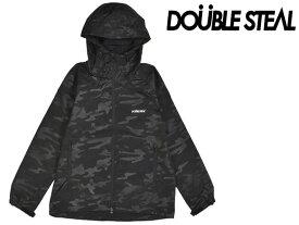 DOUBLE STEAL BLACK DOUBLESTEAL ダブルスティール ブラックアウター 785-62211 BLACK Shell Parker ストリート系 スト系 シェルパーカー OLLIE SAMURAI オーリー サムライ 送料無料