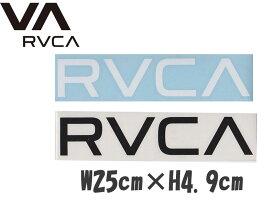 【RVCA ルカ ルーカ】THERMAL DIE CUT STICKERステッカー シール 大ファッション アパレル ファッション SKATE SURF R00-S05 日本正規 メール便