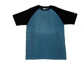 【metropia/メトロピア】TEE Tシャツ トップス カットソーRAGLAN CHAMELE メンズ ストリート ファッション メール便