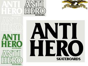 ANTI HERO ANTIHERO アンチヒーロー アンタイヒーロー ステッカー シール デカール デッキ ステッカーチューン スケート スケボー skate スケートボード ブランド 横:約17cm×縦:約11.5cm 大きいサイ