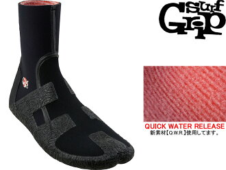 """SURF GRIP SURFGRIP冲浪握柄冲浪长筒靴冲浪长筒靴6mm QUICK WATER RELEASE Q.W.R Q.W.R.""""BOOTIES QUICK WATER RELEASE冲浪SURF AXXE CLASSIC BREAKER OUT"""