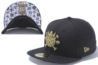 NEW ERA new era 59FIFTY baseball caps CAP Hat ONE PIECE anime 15th  anniversary Memorial thousand sunny No. N0022235 New York Yankees one piece  Christmas ... b6af8ca1c53