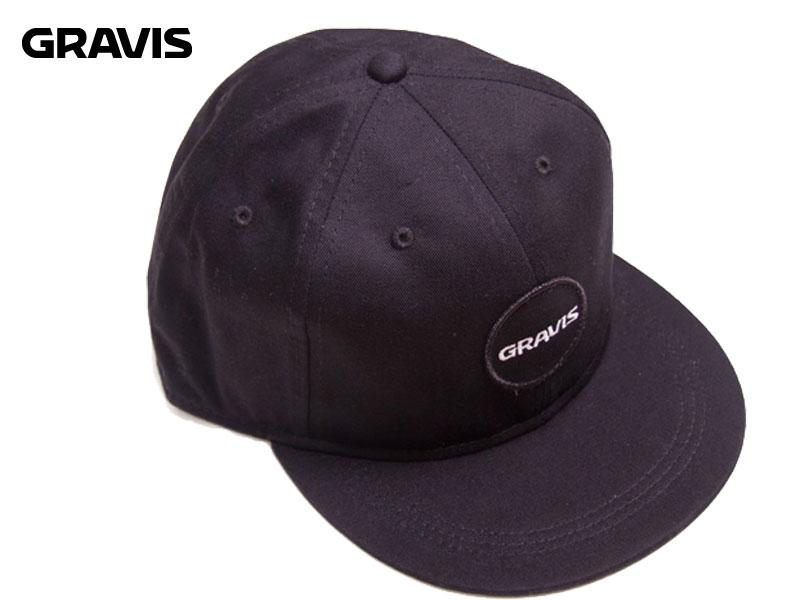 【GRAVIS グラビス】SNAP BASEBALL CAPスナップバック ベースボール キャップ15227100001 帽子 6パネル