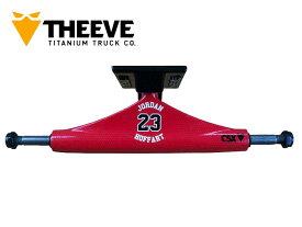 【THEEVE シーブ】 トラック TRUCK 5.25CSX Pro Jordan B-Ball Stereo Colab チタン チタニウム BONES ボーンズ ハードコアブッシュ SKATE スケボー スケートボード ジョーダン