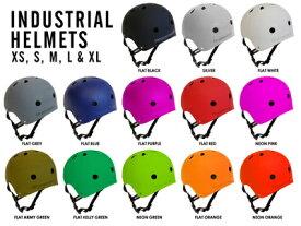 【インダストリアル ヘルメット INDUSTRIAL】【スケートボード/BMX/ストライダー/自転車】【プロテクター/保護具】 【大人/メンズ/レディース/キッズ/子供】