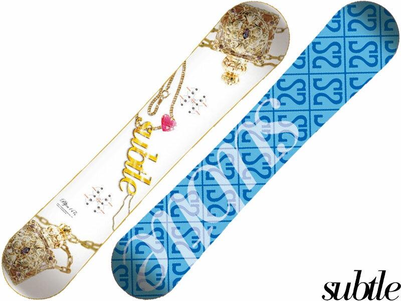 subtle サトル スノーボード ボード 板 スノボ BIJOU 142 フラットロッカー スノーボドマガジン 日本正規品 メーカー保証書付