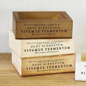 木箱 収納ボックス プチ 小物入れ ミニチュアボックス アクセサリートレー ラッピング用品 プレゼントボックス カントリー カフェ雑貨 BREAブレア