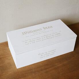 ティッシュケース ふた付き 木箱/ティッシュカバー/木製/アンティーク/おしゃれ BREA