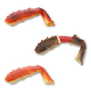 ポキッとトゥルルンたらば蟹【つるるん/リアル/カニ/おいしそう/ジョークグッズ】