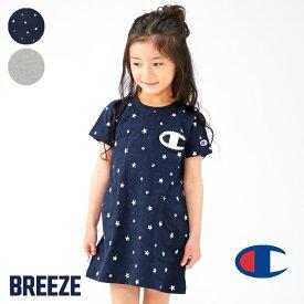 4b191ee22e372 Champion(チャンピオン)サガラワッペン付きワンピース ▽▽女の子 BREEZE ブリーズ 子供服 キッズ