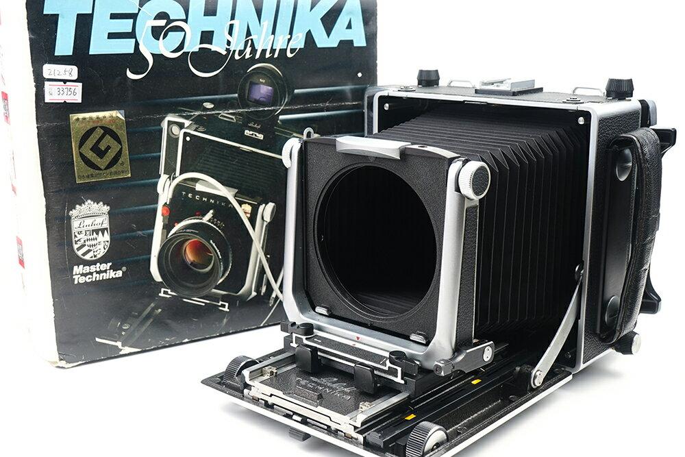 【美品】Linhof/リンホフ 45 Master Technika/マスタ テヒニカ 4x5大判カメラ 元箱付き#33756