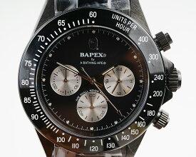 【新品】A BATHING APE/ア・ベイシング・エイプ Bapex T003シリーズ Rolex/ロレックス Daytona/デイトナ タイプ 40mm 自動巻き 腕時計#33973