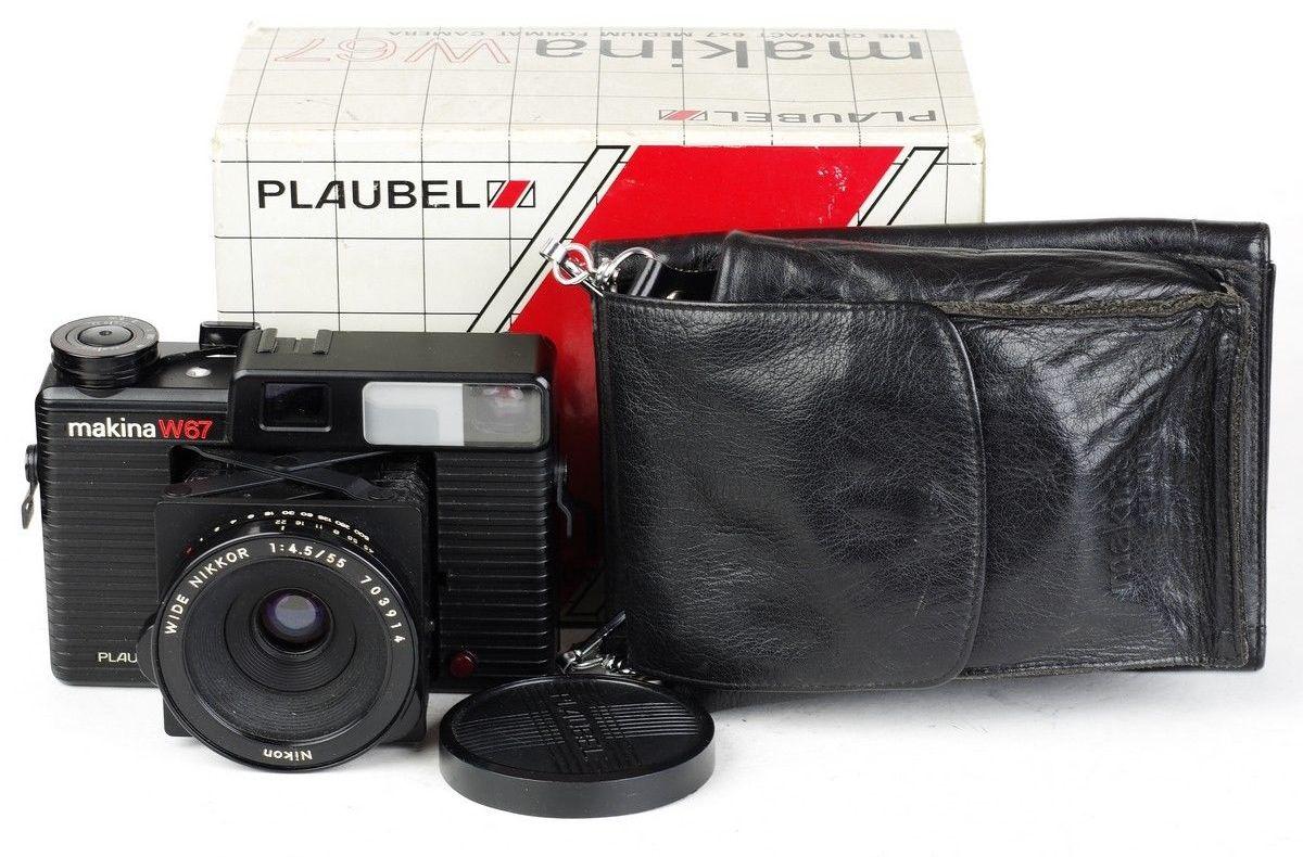 【美品】Makina/マキナ Plaubel/プラウべル W67 6x7中判広角カメラ Nikon/ニコン 55/4.5レンズ付き#HK8127