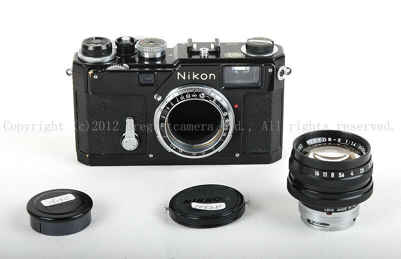 【コレクション美品】Nikon/ニコン S3 Olympic/オリンピック ブラックペイント + Nikkor 50 1.4 記念品1964年原産セット#jp14190