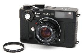 【美品】Leica/ライカ leitz minolta CL + M-Rokkor-QF 40/2 レンズセット #jp24379