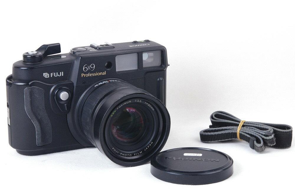 【特価美品】Fujifilm/富士フィルム GW690III 90/3.5レンズ付き 6x9中判レンジファインダーカメラ#jp20573