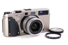【特価美品】Fujifilm/富士フィルム TX-1+Fujinon 45mm F4レンズ シャンパン色 ハッセルXPAN中判カメラ#jp22357